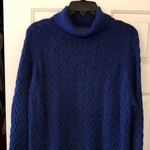 Coldwater Creek turtleneck sweater